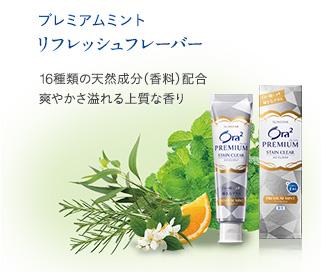 Ora2 Premium Зубная паста для удаления зубного налета и придания белизны зубам (мята)