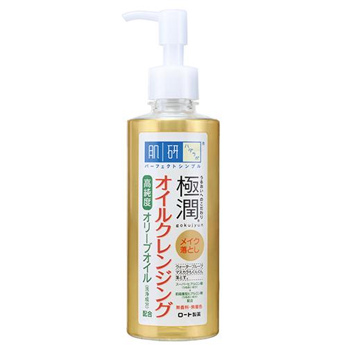 Гидрофильное масло для лица HADA LABO GOKUJYUN с гиалуроновой кислотой 200мл