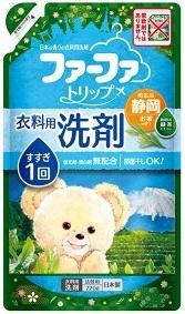 Nissan FaFa Shizuoka  Жидкое средство для стирки белья (с антибактериальным эффектом и ароматом зеленого чая)  720мл