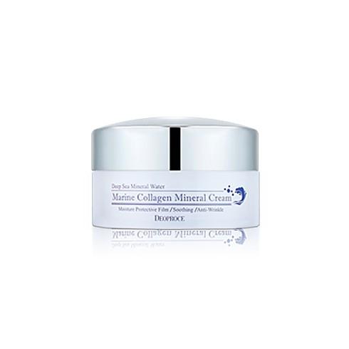 Крем для лица Морской коллаген и Эпидермальный фактор роста Deoproce marine collagen mineral cream 100 г