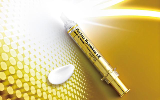 Dr.Ci:Labo Perfect Hyaloline EX FACE & NECK Интенсивная сыворотка высокой концентрации для заполнения морщин 10 гр