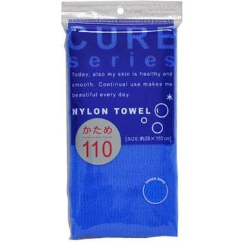 Мочалка для тела OHE CURE series жесткая 110 см (синяя) 1/200