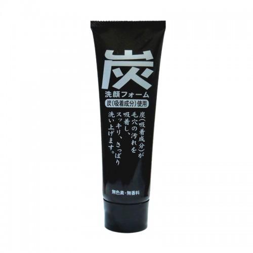 Charcoal Facial Foam Пенка для умывания с древесным углем и протеинами шёлка 120 гр