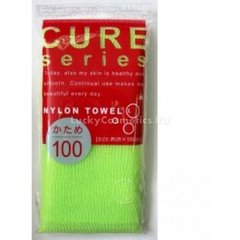 Мочалка для тела OHE CURE series жесткая 100 см (зелёная) 1/220