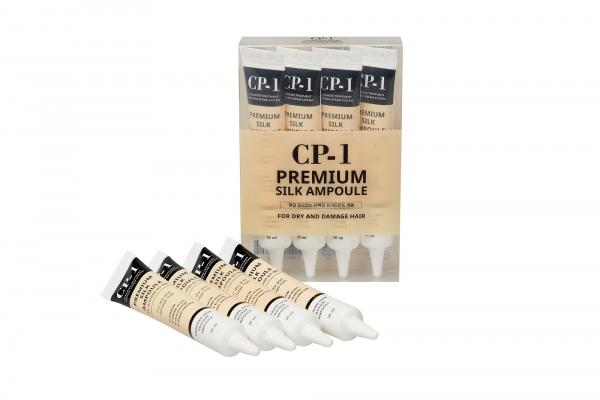 ESTHETIC HOUSE Набор Несмываемая сыворотка для волос с протеинами шелка CP-1 Premium Silk Ampoule 20 мл 4 шт