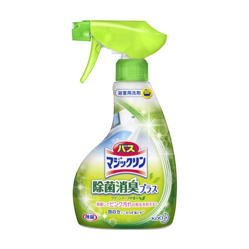 KAO Спрей-пенка для мытья ванны с ароматом свежих трав  Bath Magiclean 380 мл