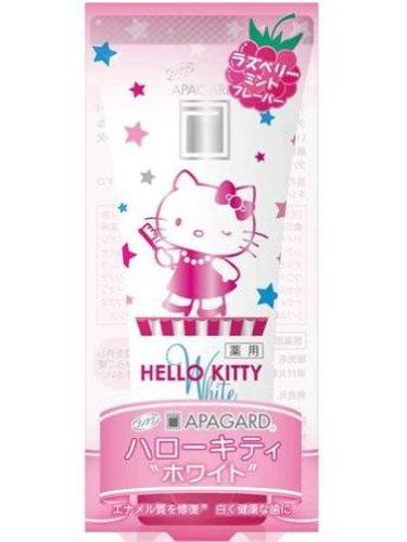 Apagard Зубная паста для детей Hello Kitty White