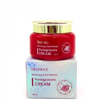 Крем антивозрастной DEOPROCE WHITENING AND ANTI-WRINKLE POMEGRANATE CREAM 100 мл