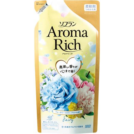 LION Soflan Aroma Rich Fairy Кондиционер для белья с богатым ароматом натуральных масел 430 мл