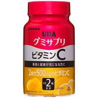 UHA Витамин С с коллагеном вкусные витамины со вкусом лимона № 60