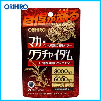 Orihiro Мака и тайский женьшень для поддержки здоровья мужчин № 100