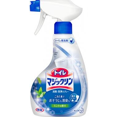 KAO Magiclean Чистящая спрей-пенка  для туалета с ароматом мяты 380 мл