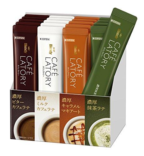 Кофе Blendy 4 вкуса 20 стиков