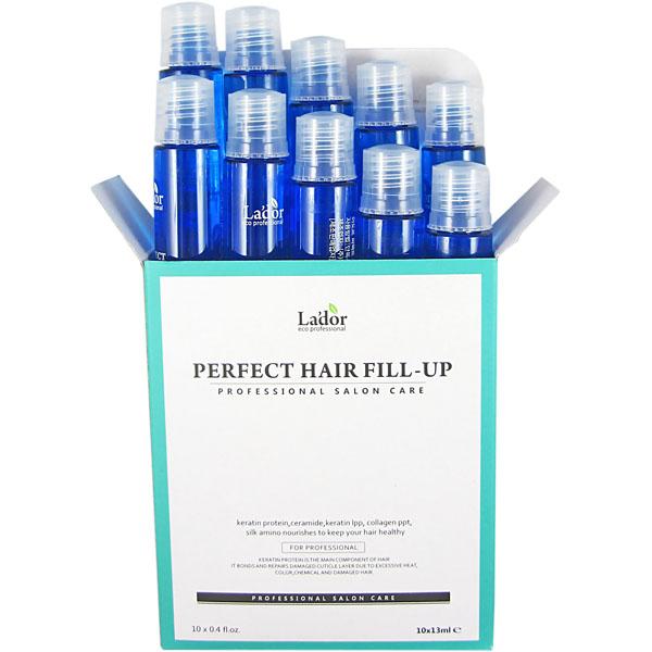 Филлер для восстановления волос LADOR Perfect Hair Filler 13 мл x 10