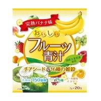 YUWA Аодзиру из 16 видов проса и семенами чиа со вкусом банана 20 пакетиков