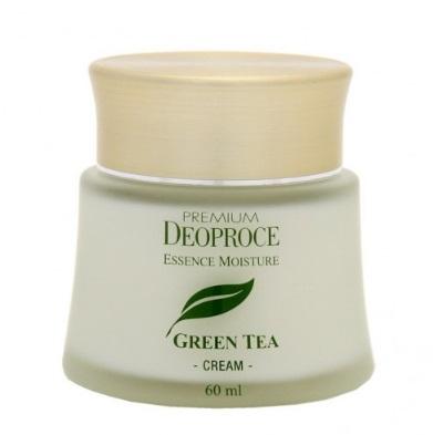 Крем на основе зеленого чая PREMIUM DEOPROCE GREENTEA TOTAL SOLUTION CREAM 60 мл