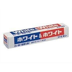 WHITE & WHITE Зубная паста c кальцием и фтором отбеливающего действия 150 г