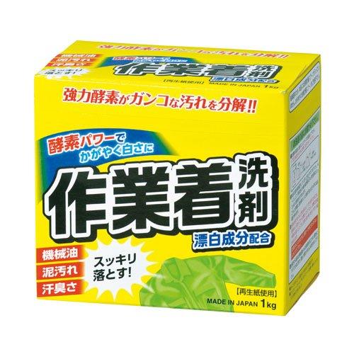 Мощный стиральный порошок Mitsuei с отбеливателем и ферментами для сильных загрязнений 1кг 1/10
