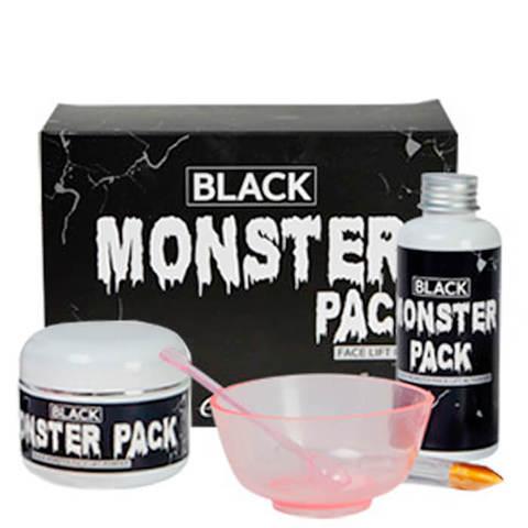 """Набор для приготовления очищающей маски ESTHETIC HOUSE """"BLACK MONSTER PACK"""""""