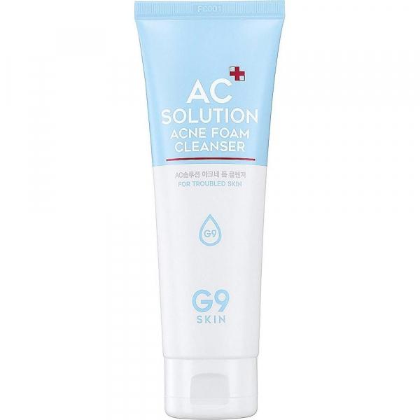 Пенка для умывания для проблемной кожи G9SKIN AC Solution ACNE foam cleanser 120 мл
