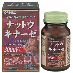 ORIHIRO Натто Киназа и лецитин № 60