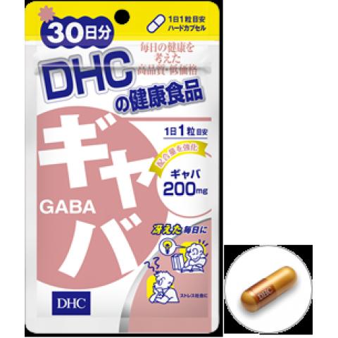 DHC GABA для спокойствия и восстановления организма после стрессов № 30