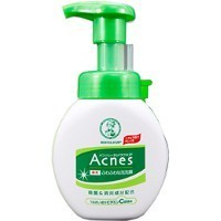 Воздушная пенка для умывания для проблемной кожи Mentholatum Acnes Cream Face Wash, Rohto 160 мл