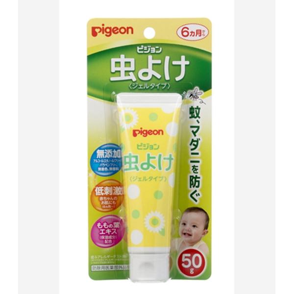 PIGEON Детский гель для защиты от насекомых  50г