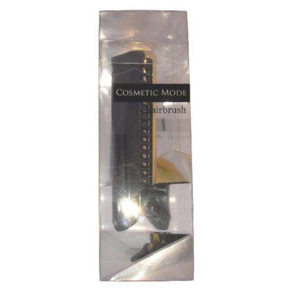 Расчёска-щётка VESS Cosmetic Mode hairbrush компактной формы (черная)