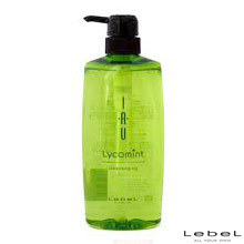Lycomint Cleansing Icy - Очищающий шампунь для мытья головы 600 мл