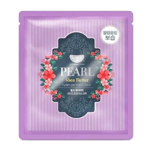 Гидрогелевая маска Koelf Pearl & Shea Butter Hydrogel Mask Pack с маслом ши и жемчужной пудрой