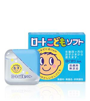 Японские капли для глаз Rohto Child от 6 лет