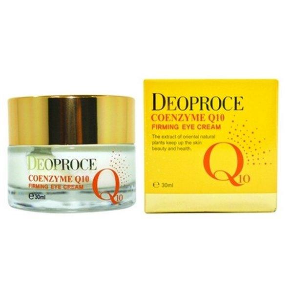 Крем для глаз укрепляющий DEOPROCE Coenzyme Q10 Firming Eye Cream 30 мл