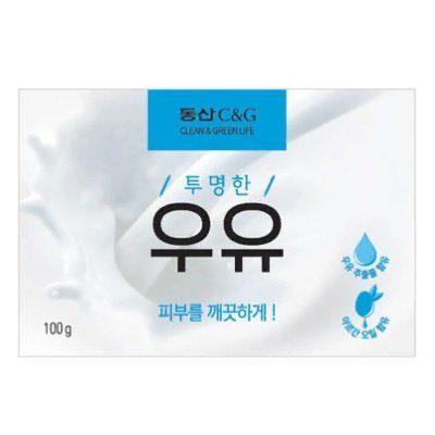 КЛИ Мыло туалетное молочное Milk Soap 100g