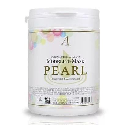 Маска альгинатная экстрактом жемчуга увлажняющая, осветляющая ANSKIN Original Pearl Modeling Mask (банка) 700 мл