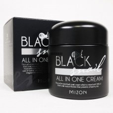 Крем многофункциональный с экстрактом черной улитки MIZON Black snail all one cream 75 мл