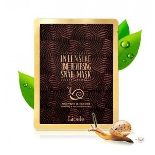 Маска улиточная Lioele Intensive Time Reversing Snail Mask 23 гр