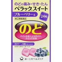 Леденцы от кашля и воспаления горла со вкусом черники без сахара № 24