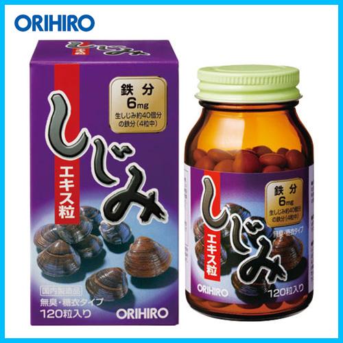 Orihiro Экстракт Корбикулы (двустворчатого моллюска) № 120
