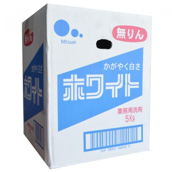 Стиральный порошок Mitsuei с ферментами и отбеливателем для удаления сильных загрязнений аромат свежести 5 кг