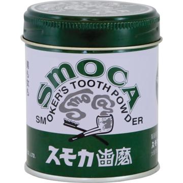 Smoca Green Зубной порошок для курильщиков со вкусом мяты и эвкалипта