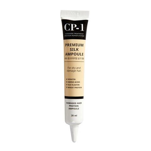 ESTHETIC HOUSE Несмываемая сыворотка для волос с протеинами шелка CP-1 Premium Silk Ampoule 20 мл
