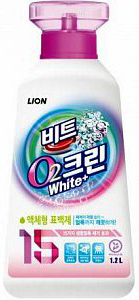 LION Жидкий кислородный отбеливатель 1200мл