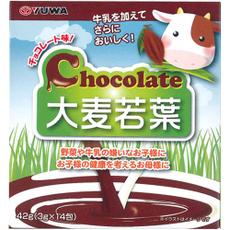 Yuwa Зеленый сок Аодзиру с шоколадной пудрой № 14