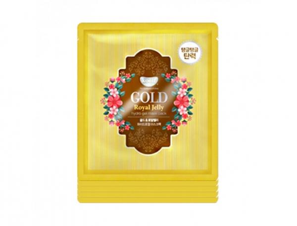 Гидрогелевая маска Koelf Gold & Royal Jelly Hydrogel Mask Pack с золотом и маточным молочком