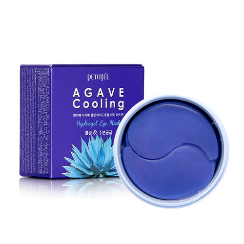 PETITFEE Agave Cooling Hydrogel Eye Patch Охлаждающие гидрогелевые патчи с экстрактом агавы № 60