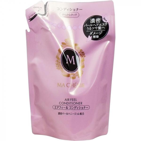 Кондиционер для волос для придания объема с цветочно-фруктовым ароматом (мягкая экономичная упаковка) SHISEIDO MA CHERIE 380 мл
