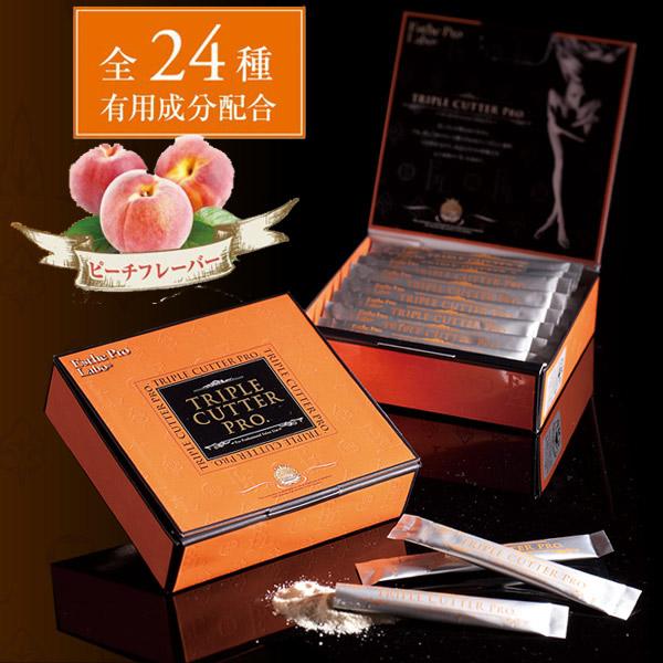 Профессиональный барьер для жиров, сахаров и углеводов Triple Cutter Pro с персиковым вкусом № 30