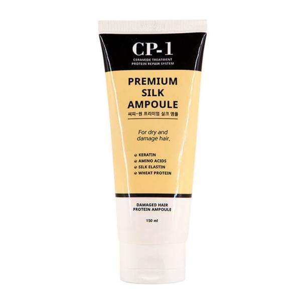 ESTHETIC HOUSE Несмываемая сыворотка для волос с протеинами шелка CP-1 Premium Silk Ampoule 150 мл