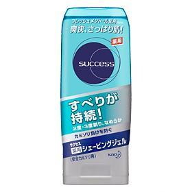 """""""KAO"""" Success Гель для бритья  с освежающим и лечебным эффектом"""